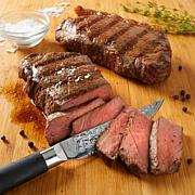 Curtis Stone Angus Pure NY Strip Steaks 8-count
