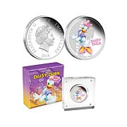 Daisy Duck Silver Limited Edition Coin