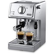 DeLonghi 15-Bar Espresso/Cappuccino Maker-Stnlss Steel