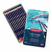 DERWENT Inktense 12-piece Colored Pencil Set