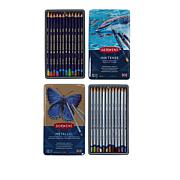 Derwent Inktense and Metallic Colored Pencils Bundle