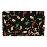 Design Imports Merry & Bright Lights Doormat