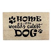 Design Imports World's Cutest Dog Doormat