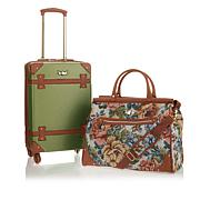 "Destinations 21-1/2"" Spinner and Tote 2pc Luggage Set"