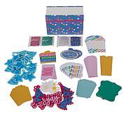 Diamond Press Birthday Party Tags Kit with Storage Book