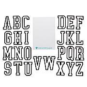 Diamond Press Collegiate Font Alphabet Dies - Auto-Ship®