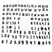 Diamond Press Mega Alphabet and Numbers 119-piece Die Set