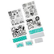 Diamond Press Seasons Coordinating Stamps and Dies