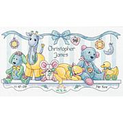Dimensions Cross Stitch Kit - Baby Hugs Baby's Friends