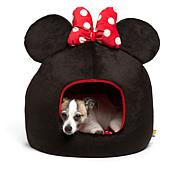 Disney Minnie Mouse Pet Bed with Squeak Toy