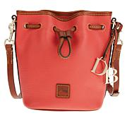 Dooney & Bourke Pebble Leather Small Drawstring Bag