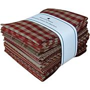 Dunroven House Fat Quarter Bundle - Red