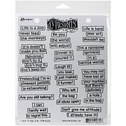 Dyan Reaveley's Dylusions Cling Stamp Collections 8.5X7 - Laugh 'til