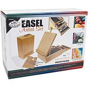 Easel Artist All Media Set - 104 Pieces