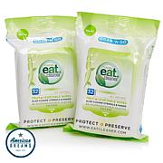 Eat Cleaner Fruit and Vegetable Wipes 2-pack