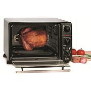 Elite Cuisine .8Cu. Ft. Toaster Oven with Rotisserie