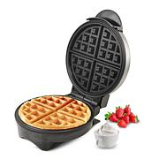 Elite Cuisine Stainless Steel Belgian Waffle Maker