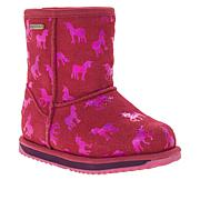 EMU Australia Rainbow Unicorn Brumby Kids Waterproof Boot
