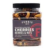 Ferris Company (3) 1 lb. Jars Cherry, Berry and Nut Mix