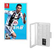 """""""FIFA 19"""" Game for Nintendo Switch with Game Caddy"""