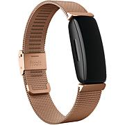 FitBit Inspire 2 Stainless Steel Mesh Band - Rose Gold
