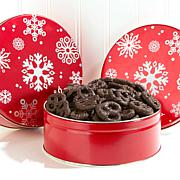 Giannios Dark Chocolate Mini Pretzels 2-pack