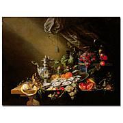 Banquet Still Life' by Cornelis de Heem Art Print