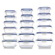 Go Green by Kinetic 36-Piece Glass Food Storage Container Set