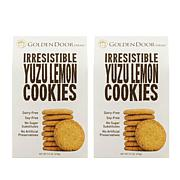Golden Door Irresistible Cookies 2pk - Yuzu Lemon