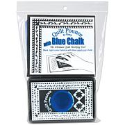 Hancy Quilt Pounce Pad with Chalk Powder - Blue Chalk