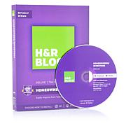 H&R Block Deluxe + State Tax Software with Online Chat