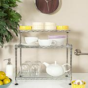 Happimess Marcel  Wire Mini Rack - Chrome