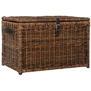 "happimess Michael 35"" Wicker Storage Trunk"