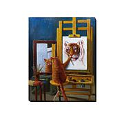 "Heffernan  ""Norman Catwell"" Giclee Wall Art - Small"