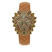 "Heidi Daus ""Bling of the Jungle"" Covered Dial Watch"