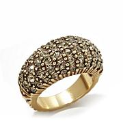 "Heidi Daus ""Hugs From Heidi"" Crystal Band Ring"
