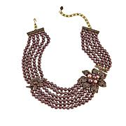 "Heidi Daus ""Lovely Linda"" Multi-Strand Beaded Necklace"