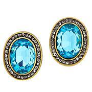 """Heidi Daus """"Tailored Elegance"""" Crystal Earrings"""