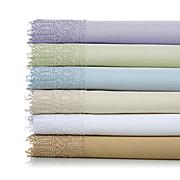 Highgate Manor Estate Lace 100% Cotton Sheet Set- Queen