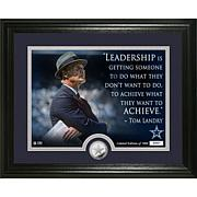 Highland Mint Tom Landry Quote Silver Coin Photo Mint