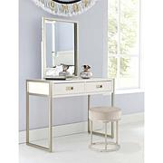 Hillsdale Furniture Swanson Vanity Stool - White