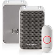 Honeywell 3 Series Plug-In Wireless Doorbell w/Strobe & Push Button