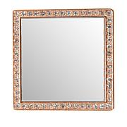 iDecoz Square Restickable Phone Mirror - Rose Gold Tone