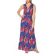 IMAN Global Chic Flawless Knit Maxi Dress