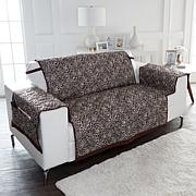 Improvements Reversible Loveseat Protector