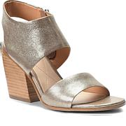 Isola Ravenna Leather or Suede Block-Heel Sandal