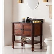 Isolode Bath Vanity Sink with Marble Top