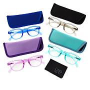 Ize 4-pack Blue Light Readers - Round