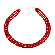 """Jay King Red Sea Bamboo Coral 18"""" Necklace"""