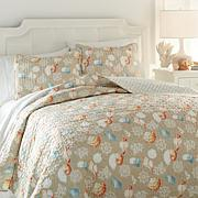 Jeffrey Banks Coastal 3-piece Quilt Set